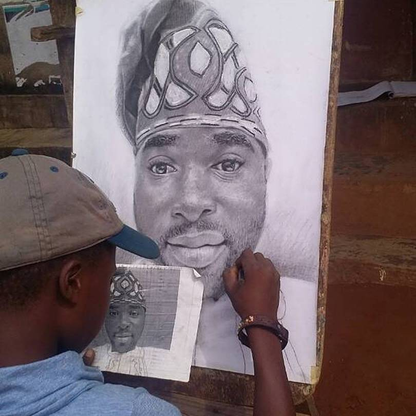 Kareem Waris Olamilekan, the 11-year-old artist whose drawings are getting worldwide recognition