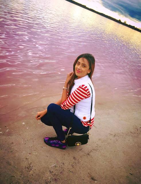 Bidya Sinha Saha New Photos In See Beach