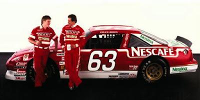 Racing Champions Chuck Bown 1/64 Nescafe