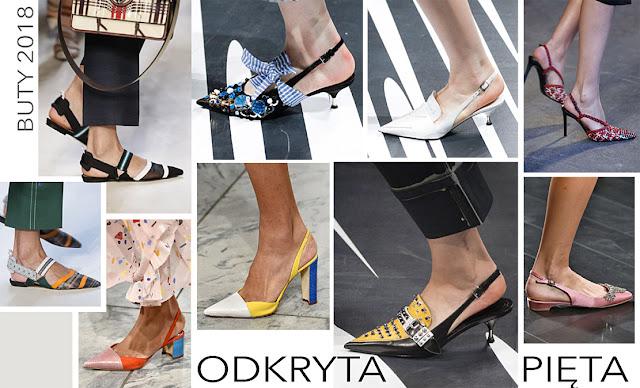 Modne buty damskie 2018 wiosna lato