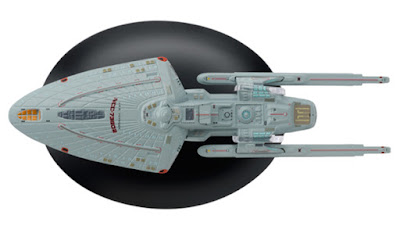 Star Trek U.S.S Voyager Sternbach Concept Model Ship Bonus Edition 11 Eaglemoss