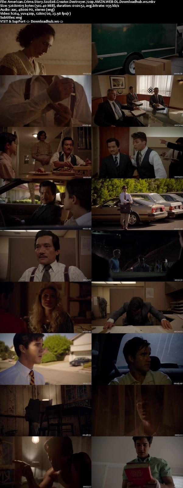 American Crime Story S02E08  300MB Web-DL 720p