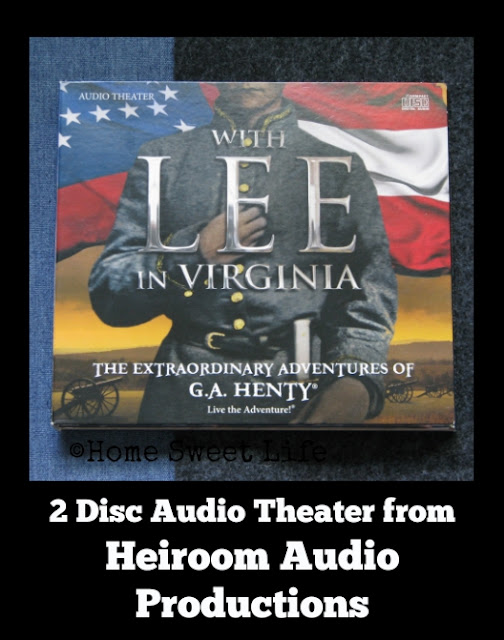 With Lee in Virginia, audio drama, Robert E. Lee, Stonewall Jackson, Kirk Cameron, Sean Astin