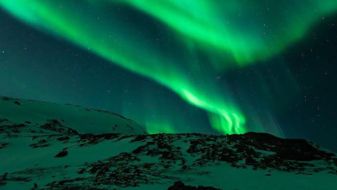 Wallpaper: Aurora Borealis in Norway