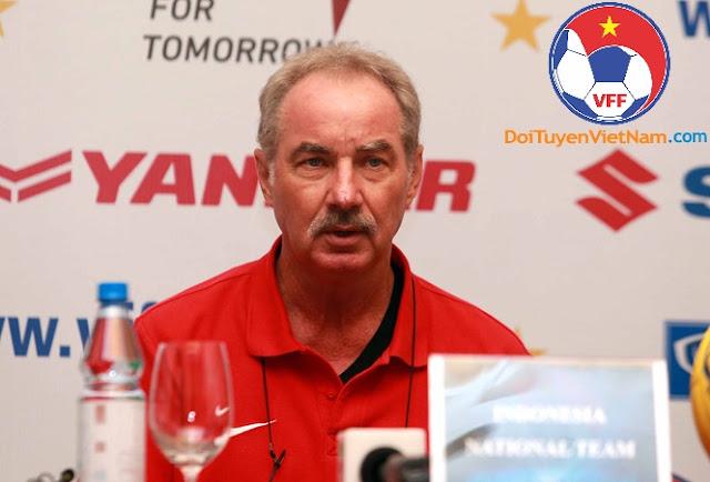 'Đội tuyển Việt Nam luôn là đối thủ ưa thích của Indonesia'