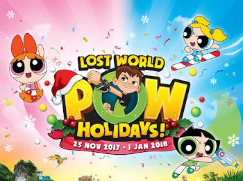 Powerpuff dan Ben 10 akan 'Menyerang' Lost World of Tambun