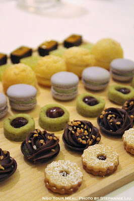 Petit Fours at Eleven Madison Park in New York City