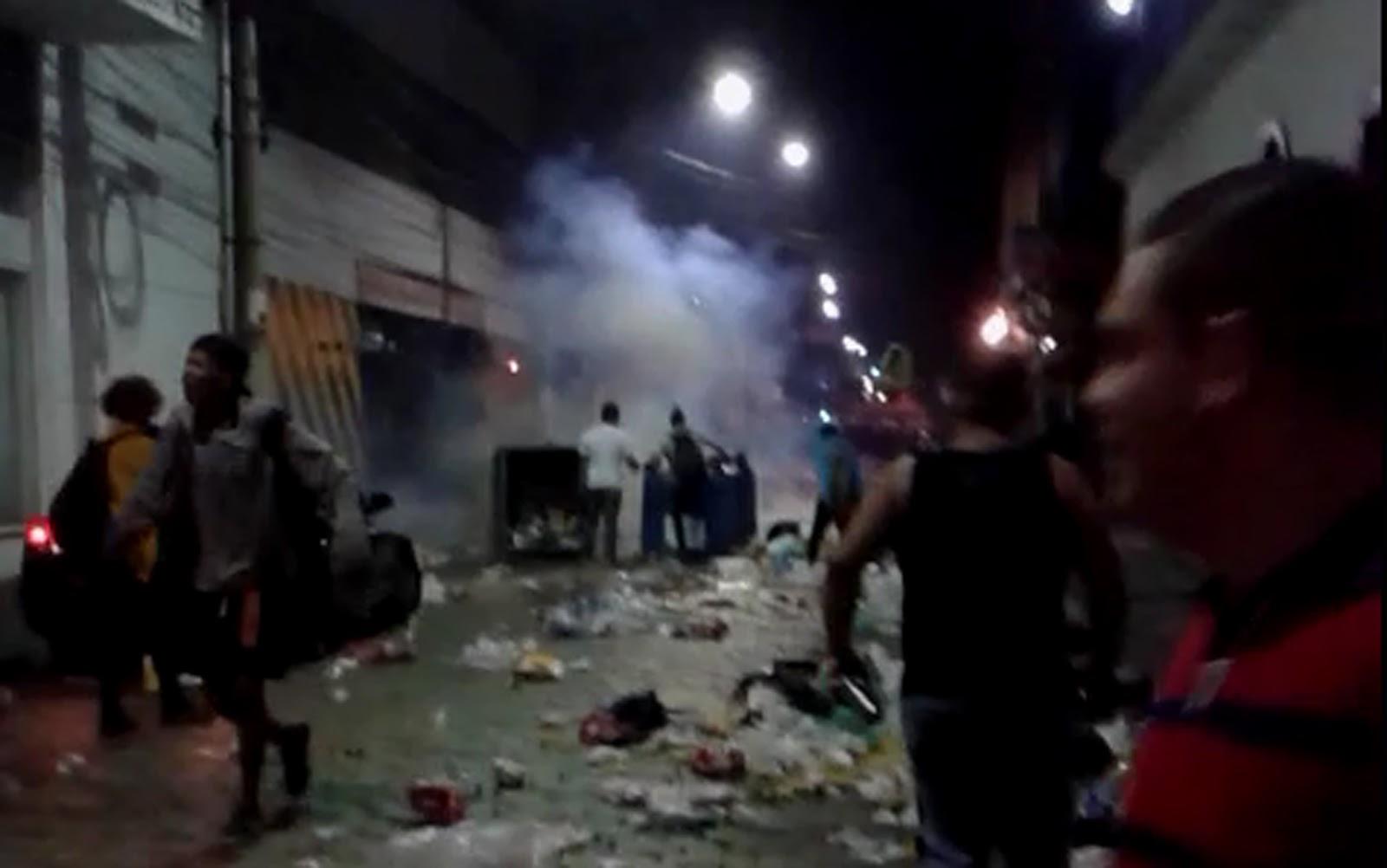 PM usa granada e spray de pimenta para dispersar público após Parada LGBT
