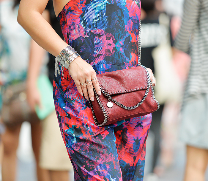 Crystal Phuong wore Stellar McCartney Bag and Finder Keepers Jumpsuit
