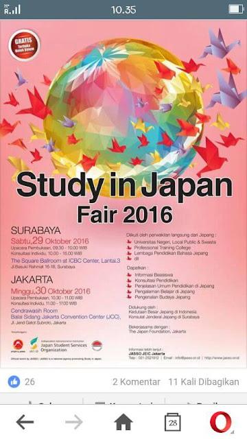 Info Kuliah dan Beasiswa di Universitas di Jepang