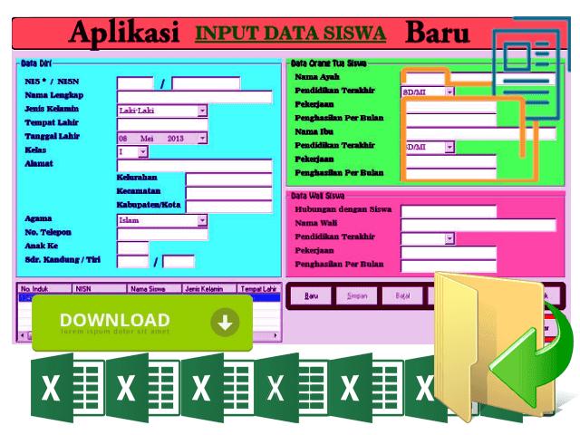 Aplikasi Data dan Profil Data Siswa Terbaru Dan Tercanggih