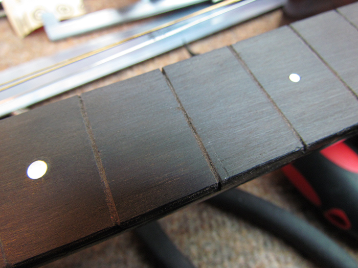 Compression Fretting to Correct Upbow: 1931 Martin 0-18T Restoration ...