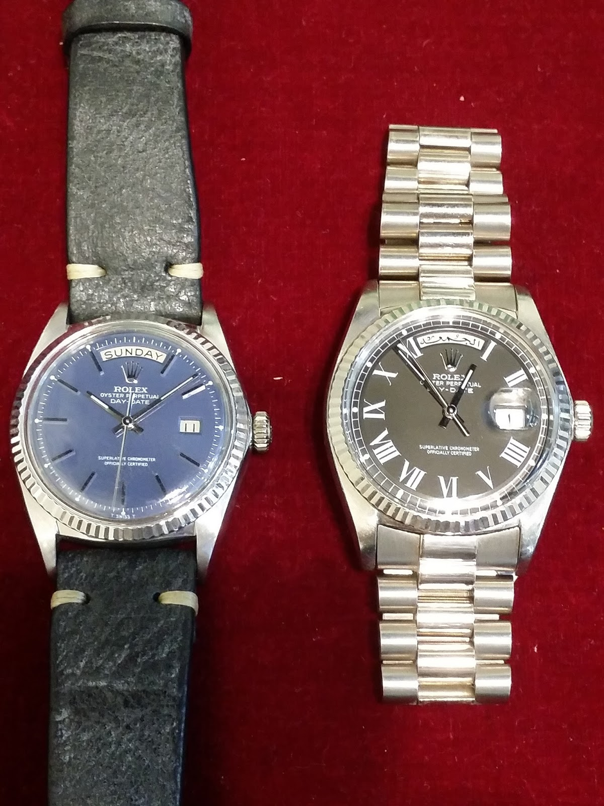 f6072e6eb9c Hong Kong Watch Fever 香港勞友  Rolex Day Date Ref.1803 white Gold ...