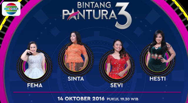 Peserta Bintang Pantura 3 yang Turun Panggung Tgl 14 Oktober 2016