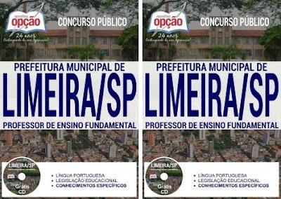 Apostila Prefeitura de Limeira - Professor Substituto da SME Limeira - SP 2018