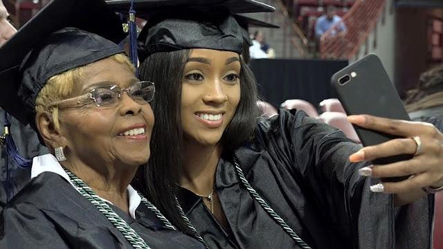 Di Usia 92 Tahun, Wanita Ini Lulus Kuliah untuk Keempat Kalinya