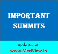 List of Summits held in 2015, 2014, 2016