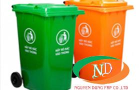 thùng rác nhựa công cộng composite 240l