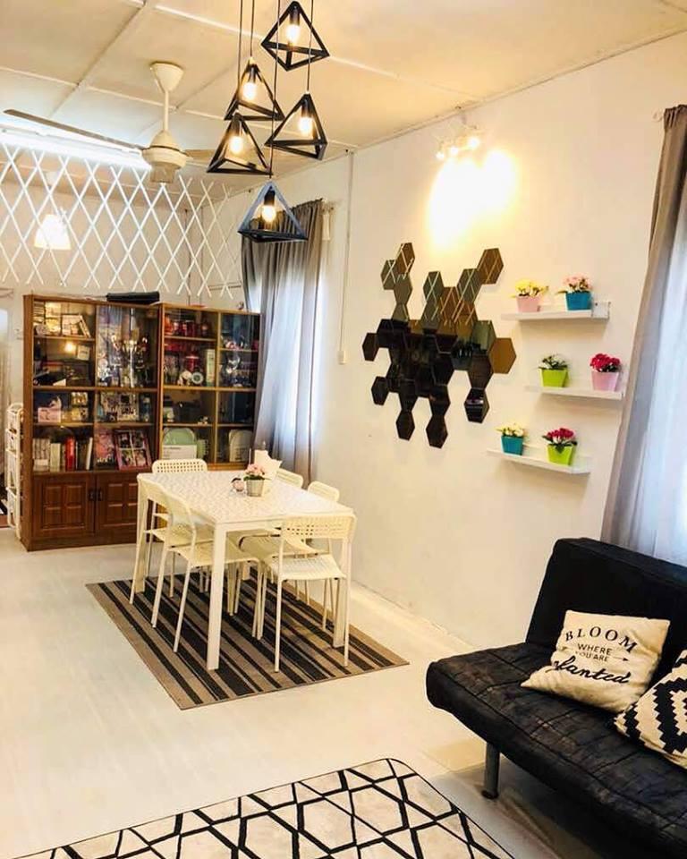 Ruang Tamu Selepas Karpet Rm95 Ala Ikea Lantai Tikar Getah Biasa Shj Rm230 Segulung Untuk Sebuah Rumah