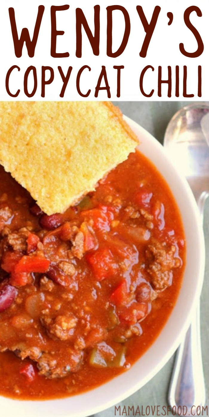 recipe for wendy's chili
