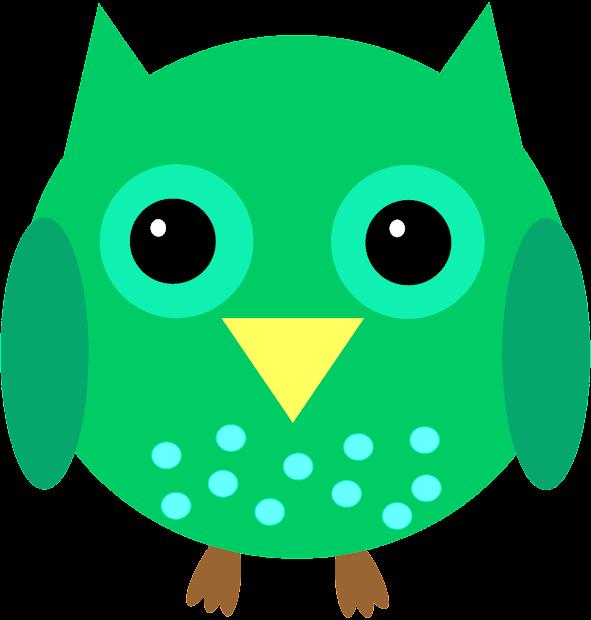 Graphic Owl Clip Art