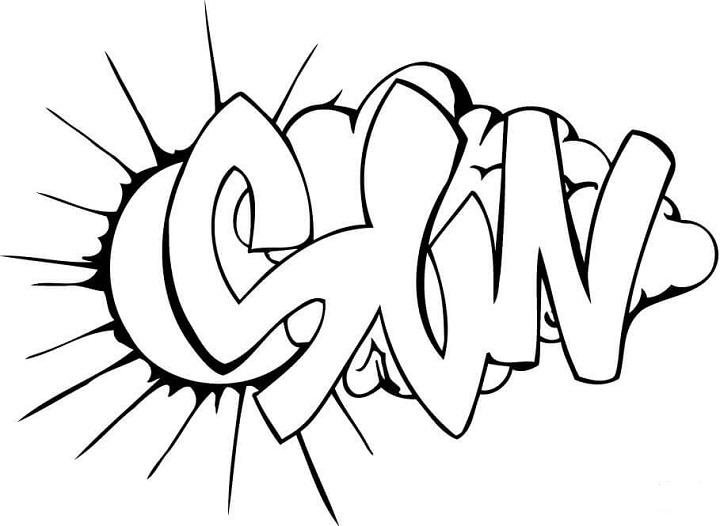 Coloring Book Chance The R Er Clean : Graffiti bilder zum nachmalen anf?nger coole