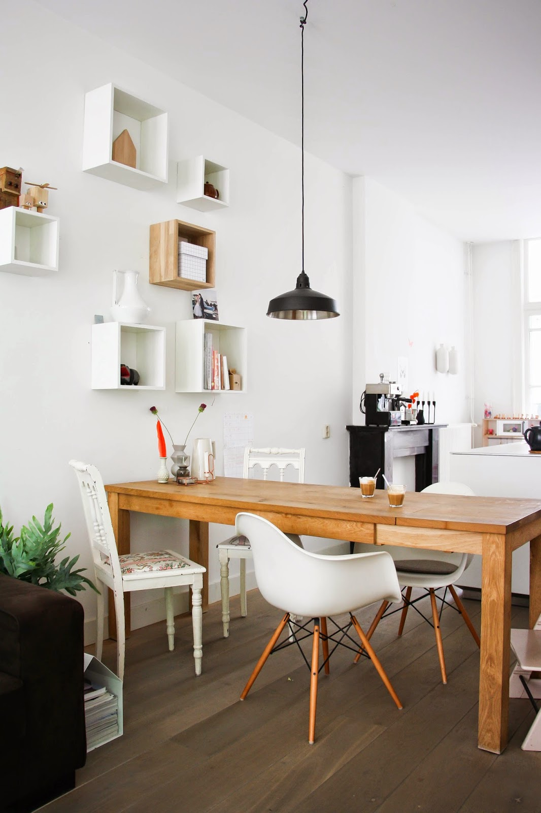 my scandinavian home a light and relaxed amsterdam home and give away winner. Black Bedroom Furniture Sets. Home Design Ideas