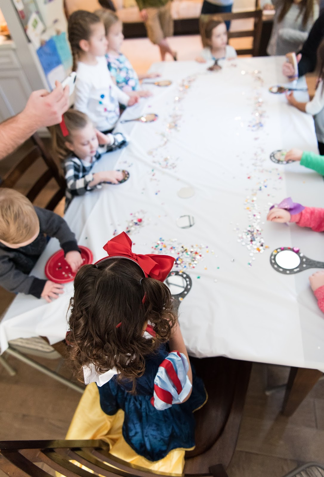 The House of Nash: Rose\'s Snow White 3rd Birthday Party