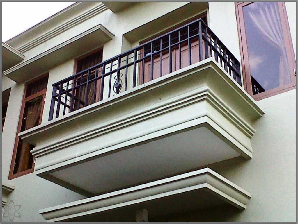 Balkon Rumah Minimalis Cantik Elegan