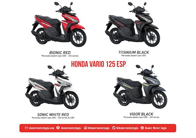 Harga Promo Terbaru Cash - Kredit Honda Vario 125 Esp 2018