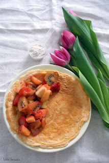 omelt z odżywką białkową
