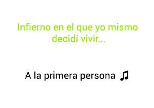 Alejandro Sanz A La Primera Persona significado de la canción.