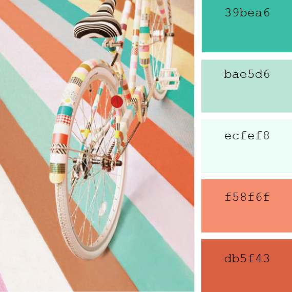 ideas to combinate pantone colors pantone, blue bay and peach