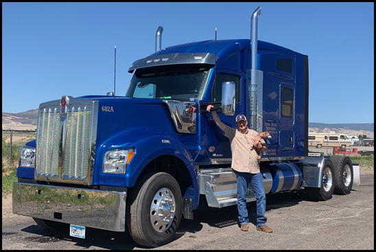 Larry Martin's Kenworth W990