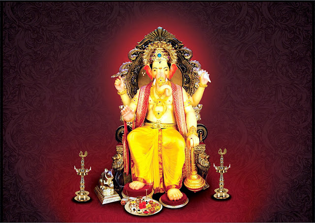 Panchmukhi Ganesh Wallpaper Hd Lalbaugcha Raja Hindu God Wallpapers Download