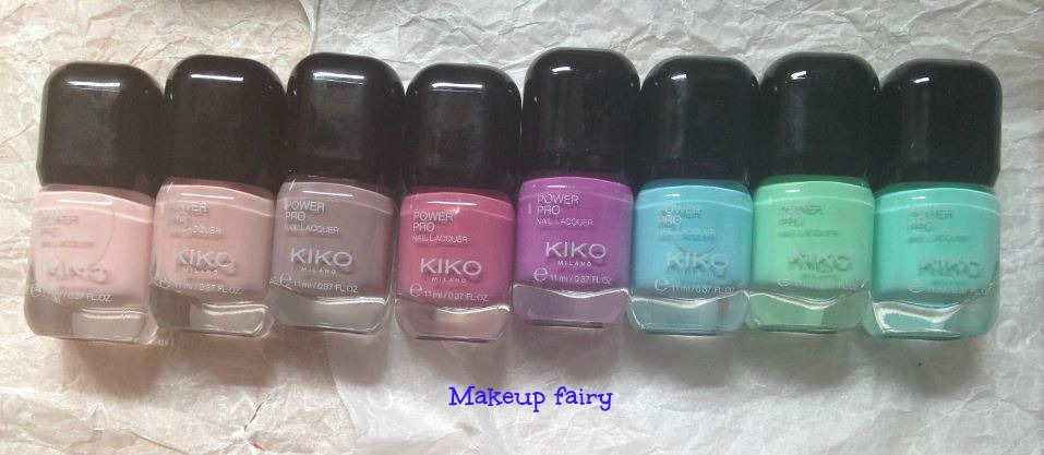Tinklesmakeup: One product review Kiko power pro nail lacquer