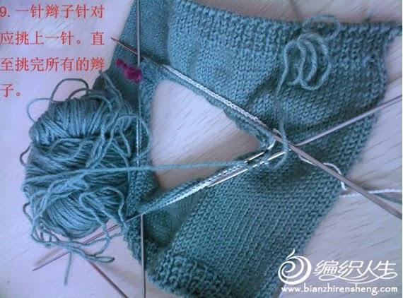 мастер-класс, уроки по вязанию, вязание спицами, обработка горловины,