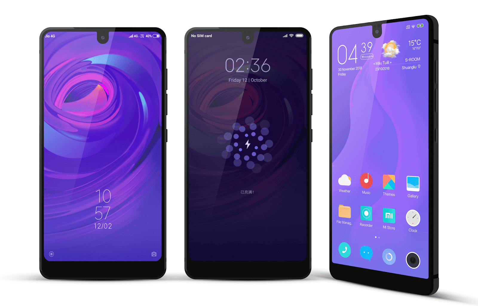 Xiaomi Mi Mix 3 Default Theme Download For Xiaomi Mobile