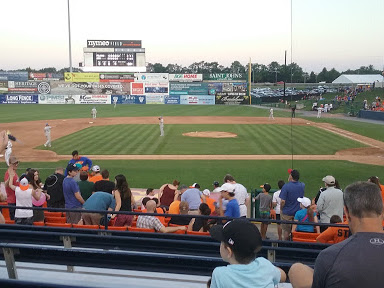 Take Me Out to the Ball Game! Frederick Keys Baseball #Travel Friday