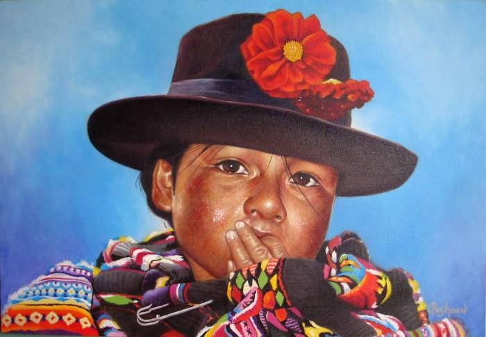 Luis Pasihuan Tenorio. Современный художник