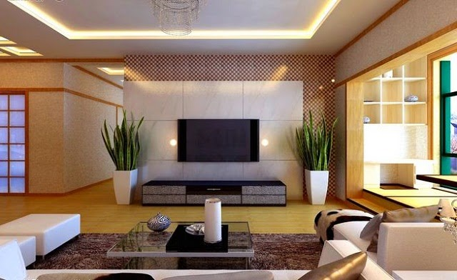 Japanese Style Living Room Interior