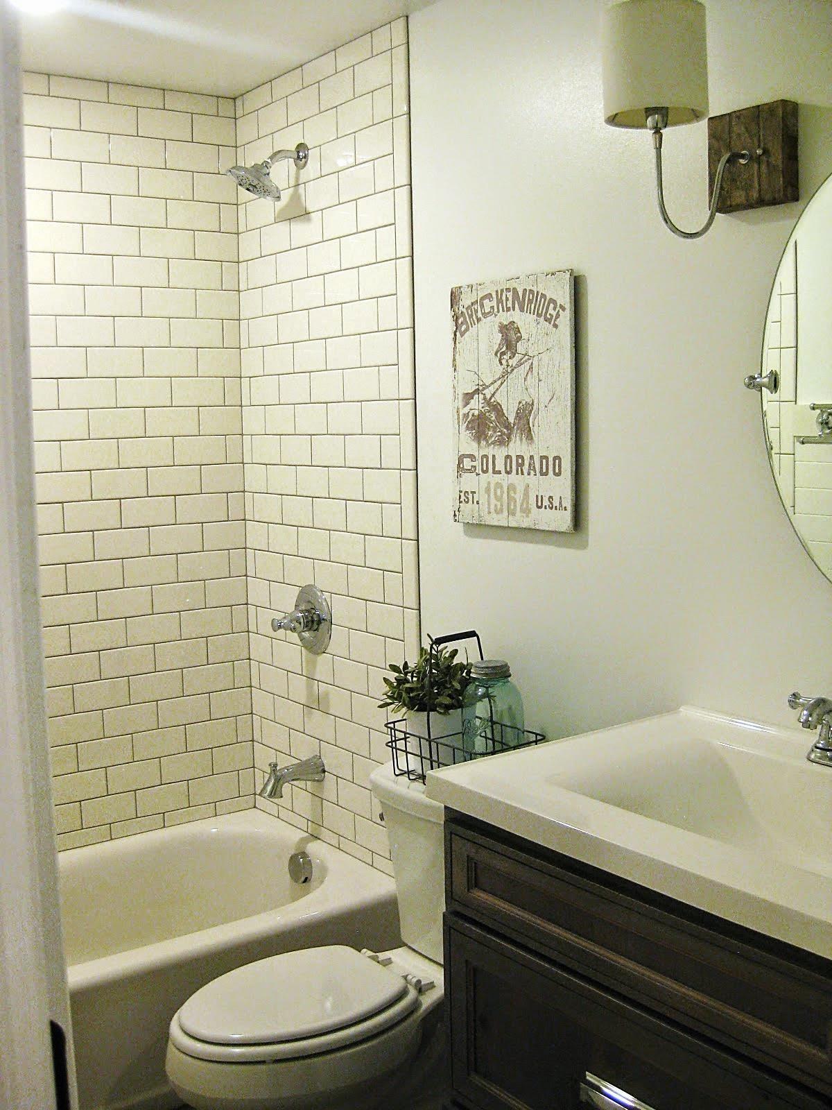 TDA decorating and design Basement Bathroom Before  After