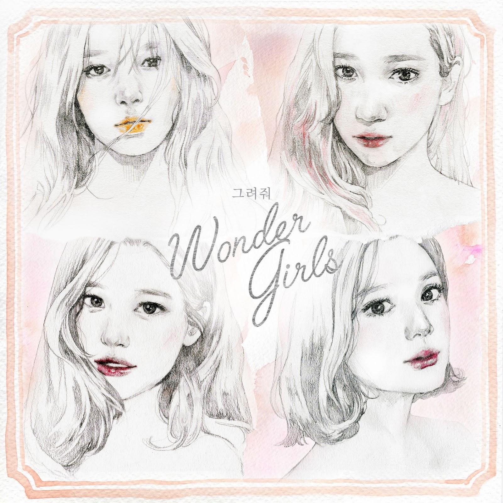 Korean Myuzicstylez Wonder Girls Draw Me Easy Lyrics Eng