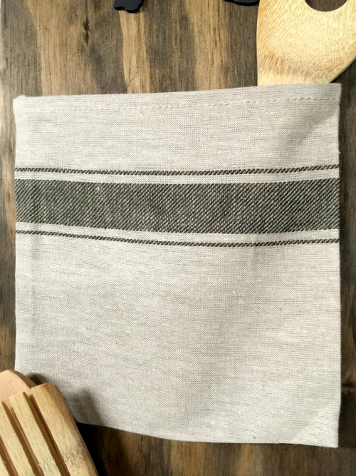 Grain Sack Bag with wooden spoons
