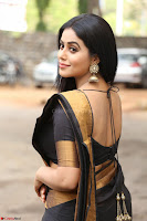 Poorna in Cute Backless Choli Saree Stunning Beauty at Avantika Movie platinum Disc Function ~  Exclusive 039.JPG
