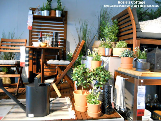 Ikea Summer in the garden