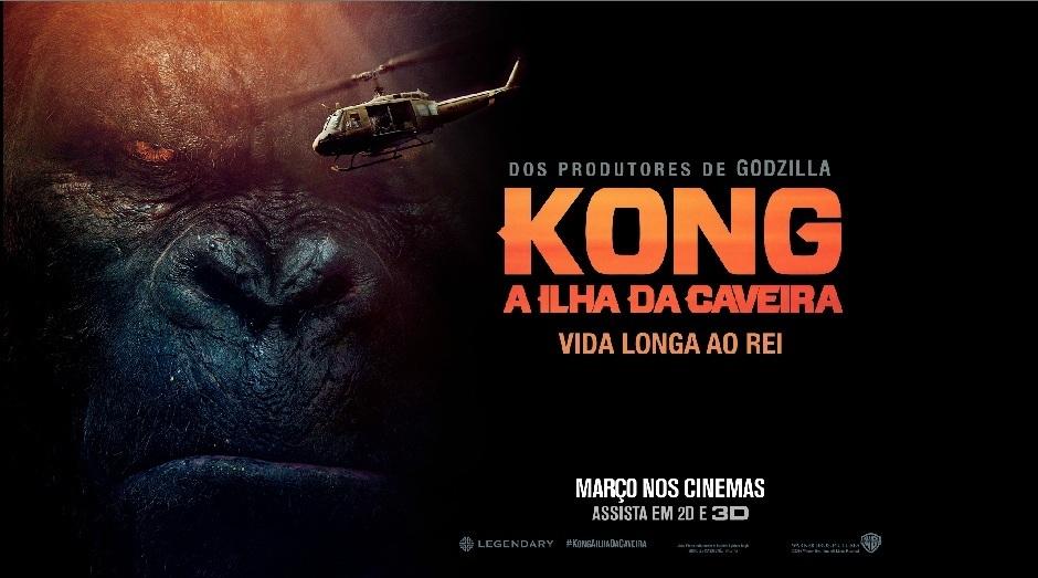Wanna Be Nerd Kong A Ilha Da Caveira 3d
