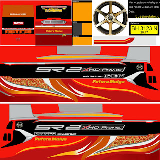Kumpulan Livery Bus Simulator Indonesia V6