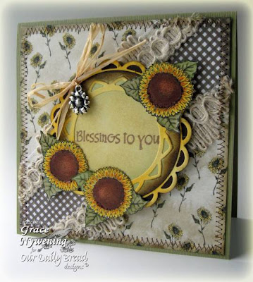 Our Daily Bread designs Harvest Blessings Happy Fall Designer Grace Nywening