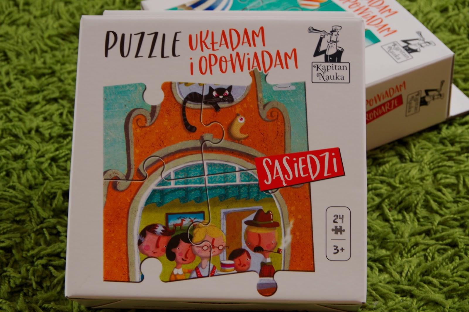 pionowe puzzle